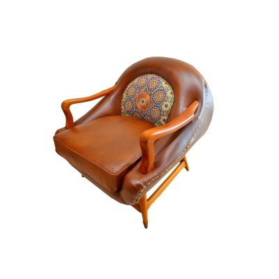 Moon Leather Chair