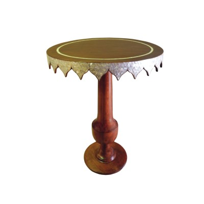 Dione Wood Accent Table