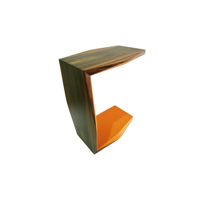 C Wooden Table (Yellow)